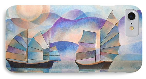 Shades Of Tranquility IPhone Case by Tracey Harrington-Simpson