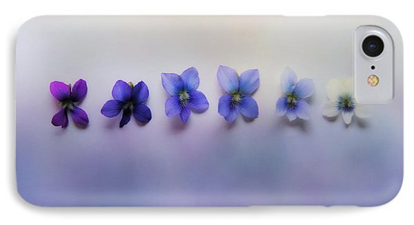 Shades Of Violet IPhone Case