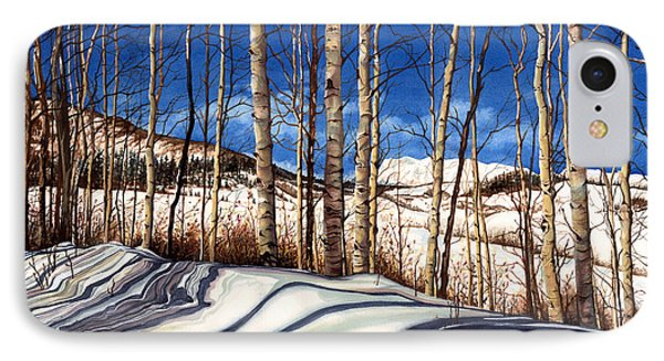 IPhone Case featuring the painting Shadow Dance by Barbara Jewell