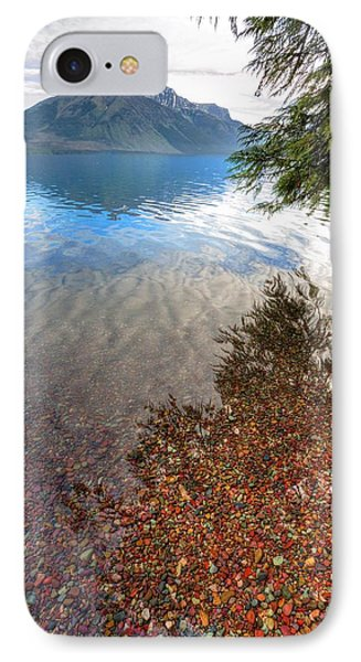 IPhone Case featuring the photograph Shadow Pebbles by David Andersen