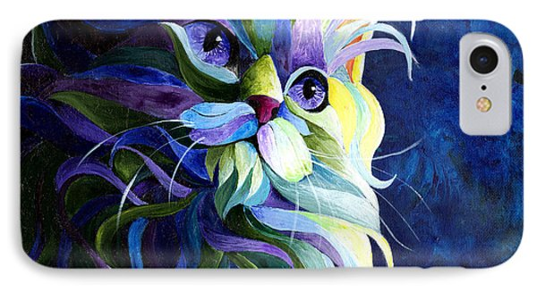 Shadow Puss Phone Case by Sherry Shipley