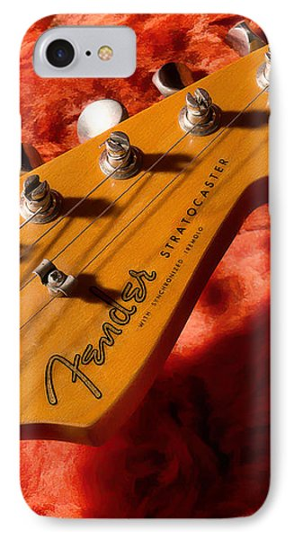 Rock And Roll iPhone 7 Case - Shadowcaster by Douglas Pittman