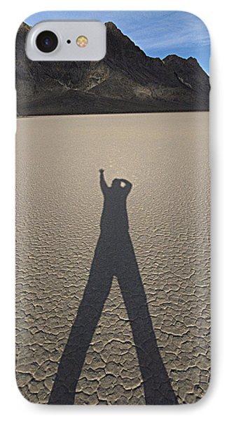 Shadowman IPhone Case by Joe Schofield
