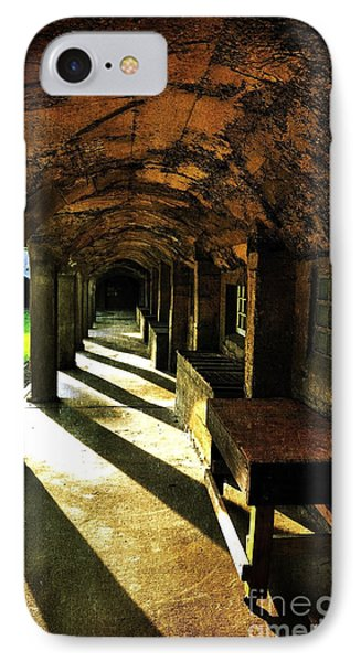 Shadows And Arches I IPhone Case by Debra Fedchin