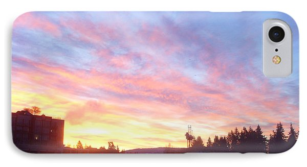 Shadows And Color In The Pacific Northwest Phone Case by Alexander Van Berg