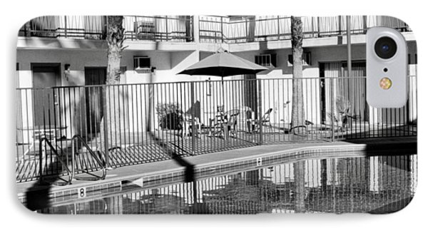 Shadows In Paradise Palm Springs Phone Case by William Dey