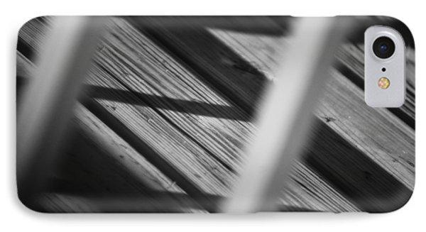 Shadows Of Carpentry Phone Case by Christi Kraft