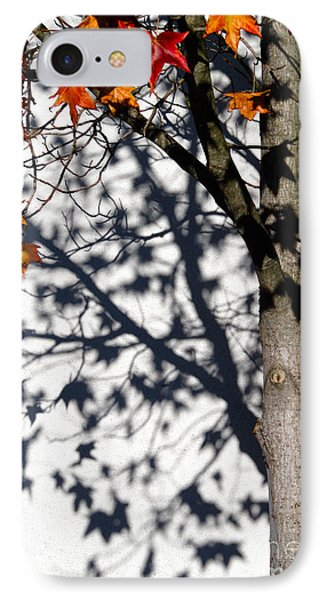 Shadows Of Fall IPhone Case by CML Brown