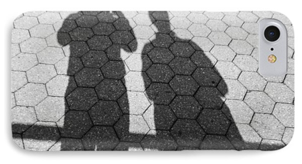 Shadows Of Our Former Selves IPhone Case by Jon Woodhams