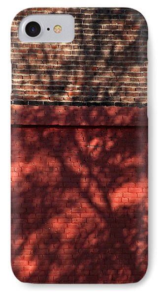 Shadows On The Wall Phone Case by Karol Livote