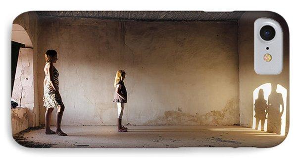 Shadows Reborn - Convergence IPhone Case by Alfio Finocchiaro