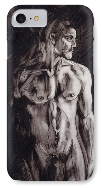 Shadows Phone Case by Rudy Nagel