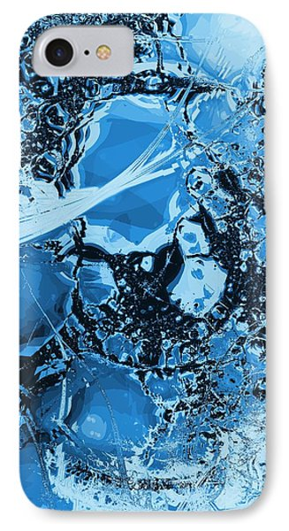 Shadows Under Ice IPhone Case