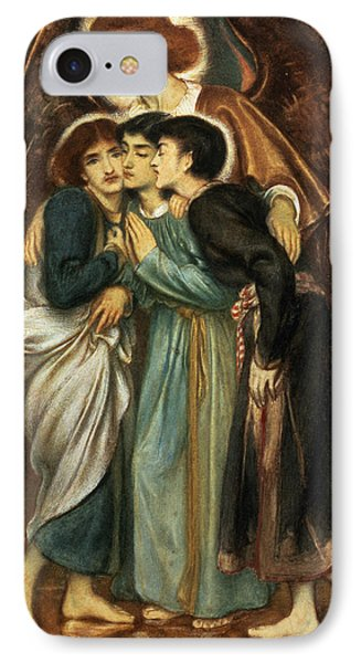 Punishment iPhone 7 Case - Shadrach, Meshach And Abednego by Simeon Solomon