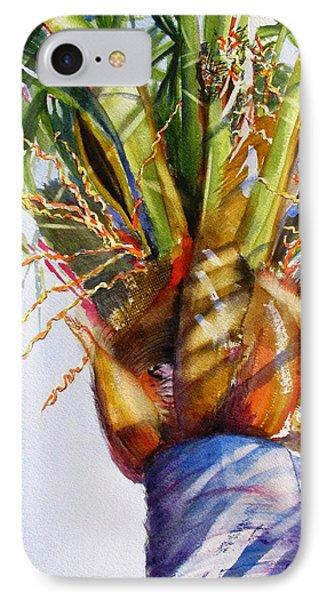 Shady Palm Tree IPhone Case by Carlin Blahnik