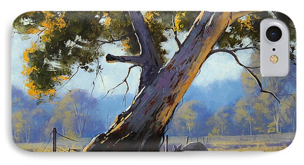 Shady Tree IPhone Case by Graham Gercken