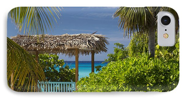 Shady View - Bahamas IPhone Case by Brian Jannsen