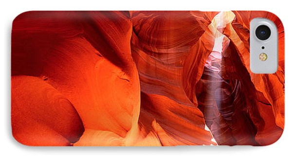 Shaft Of Sunlight In A Canyon, Antelope IPhone Case