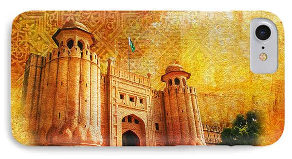 Shahi Qilla Or Royal Fort Phone Case by Catf