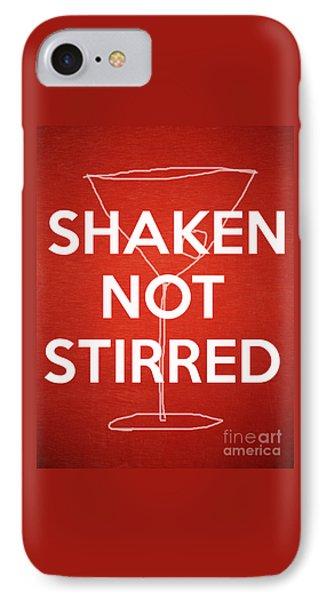 Shaken Not Stirred IPhone Case by Edward Fielding