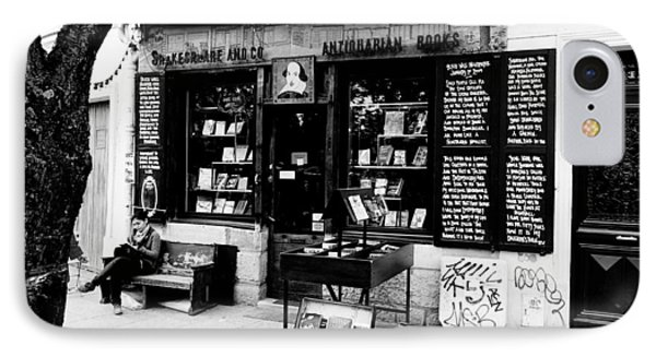 Shakespeare And Company Boookstore In Paris France IPhone Case by Richard Rosenshein