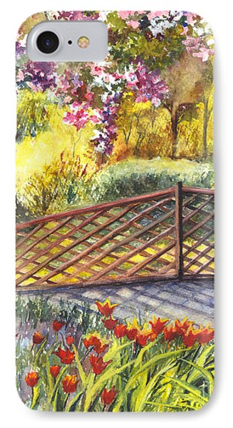 Shakespeare Garden Central Park New York City Phone Case by Carol Wisniewski