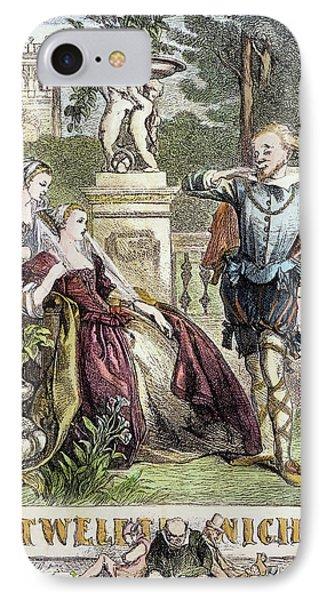 Shakespeare Twelfth Night IPhone Case