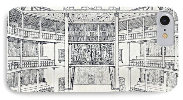 Shakespeares Globe Theatre IPhone Case by Folger Shakespeare Library