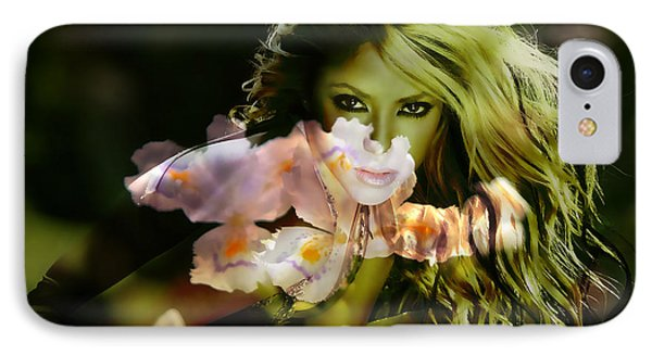 Shakira IPhone 7 Case by Marvin Blaine