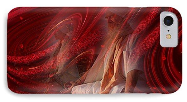 IPhone Case featuring the digital art Shakti - Spirituality Art By Giada Rossi by Giada Rossi
