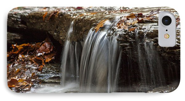 Shale Creek In Autumn Phone Case by Darleen Stry