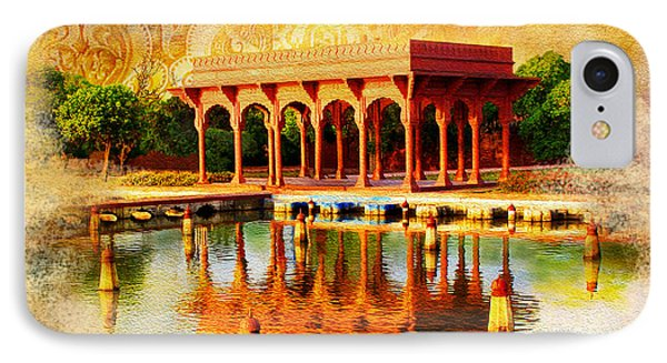 Shalimar Gardens Phone Case by Catf