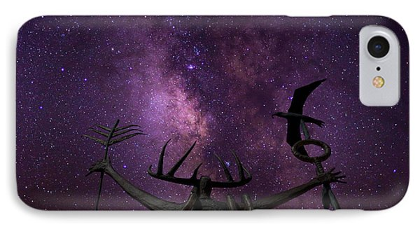 Shaman Calling Upon The Universe IPhone Case