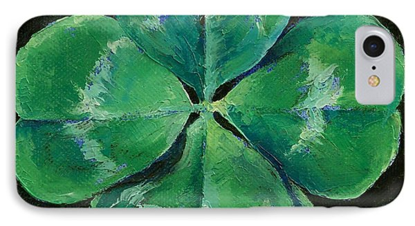 Shamrock Phone Case by Michael Creese