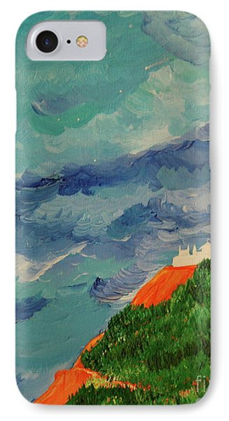 IPhone Case featuring the painting Shangri-la by First Star Art