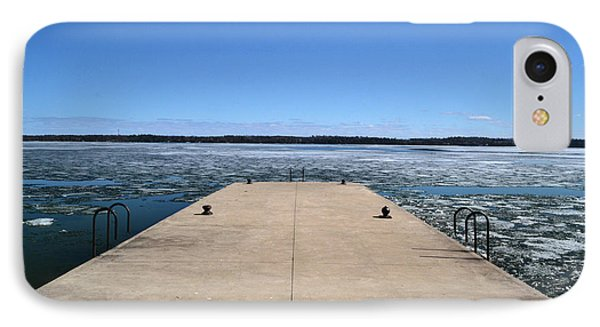 Shanty Bay Pier 2  Phone Case by Lyle Crump