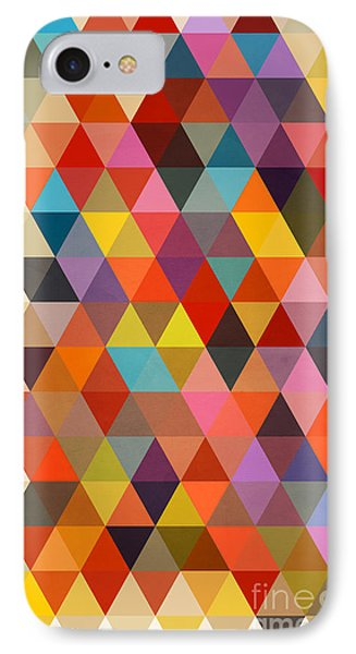 Shapes IPhone 7 Case by Mark Ashkenazi