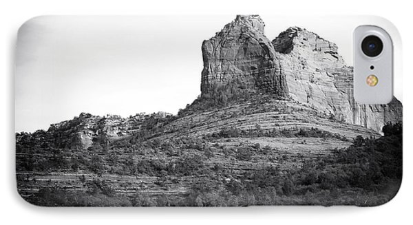 Shapes Of Oak Creek Canyon Phone Case by John Rizzuto