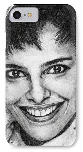 Shari Belafonte In 1985 Phone Case by J McCombie
