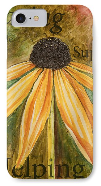 IPhone Case featuring the painting Sharing by Lisa Fiedler Jaworski