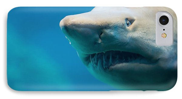 Shark Phone Case by Johan Swanepoel