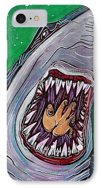 Shark Kill Zone IPhone Case by Laura Barbosa