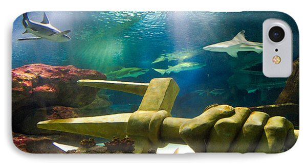 Shark Tank Trident Phone Case by Bill Pevlor