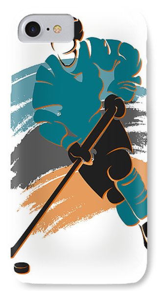 Sharks Shadow Player2 IPhone Case by Joe Hamilton