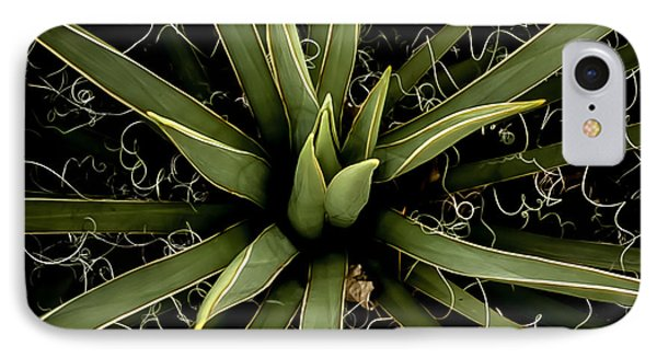 Sharp Points - Yucca Plant Phone Case by Steven Milner