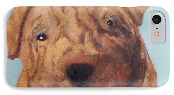Sharpei - Golden Boy IPhone Case