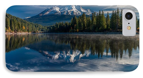 Shasta And Lake Siskiyou IPhone Case by Greg Nyquist