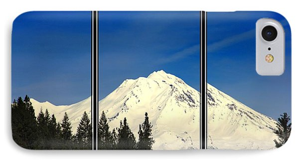 IPhone Case featuring the photograph Shasta by Athala Carole Bruckner