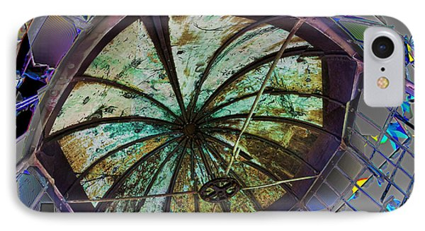 Shattered Cupola IPhone Case by Gregory Scott