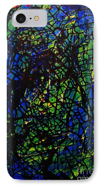 Shattered Phone Case by Jeff Barrett